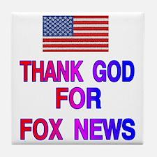 FOX NEWS Tile Coaster
