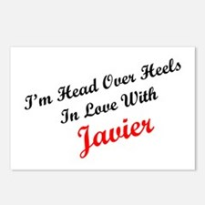 In Love with Javier Postcards (Package of 8)