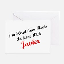 In Love with Javier Greeting Cards (Pk of 10)