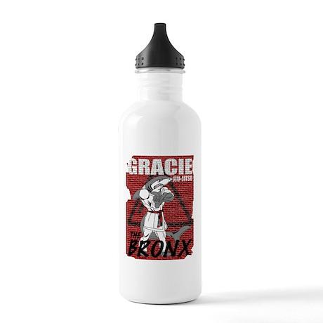 gjj shark shirt back Stainless Water Bottle 1.0L