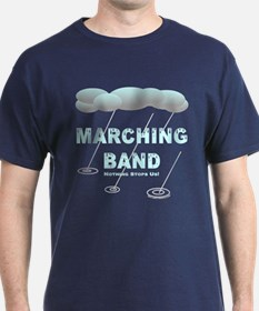 Marching Band in the Rain T-Shirt
