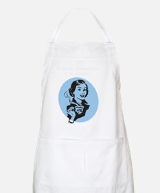 I think, therefore Im single Apron