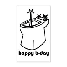 happy b-day Wall Decal