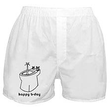 happy b-day Boxer Shorts