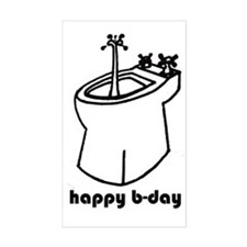happy b-day Decal
