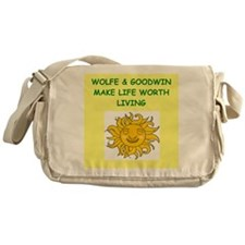 wolfe and goodwin Messenger Bag