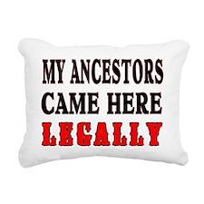 ANCESTORS LEGALLY Rectangular Canvas Pillow