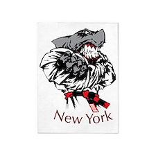 rex new york 5'x7'Area Rug