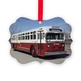 Bus Picture Frame Ornaments