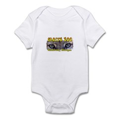 Animal Eyes Infant Bodysuit