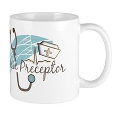 nurse preptor BLUE BROWN 2011 Mug