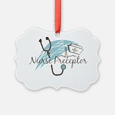 nurse preptor BLUE BROWN 2011 Ornament