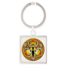 Goddess Design - 004 - Air Square Keychain