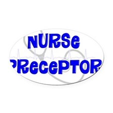Nurse Preceptor Oval Car Magnet