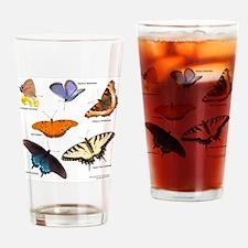12x12_BflyT2011 Drinking Glass