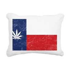 TX_leaf_merch Rectangular Canvas Pillow