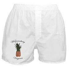 pineapple-Teeshirt Boxer Shorts