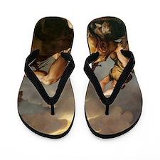David and Goliath Flip Flops