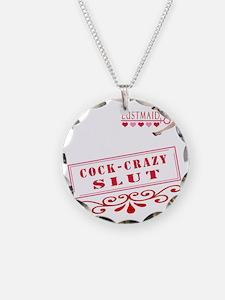 COCKCRAZY--SLUT Necklace