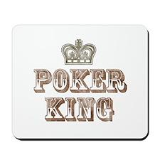 Poker King Mousepad