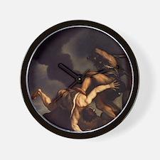 Cain Slaying Abel Wall Clock