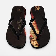 Portrait of Ranuccio Farnese Flip Flops