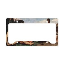 The Three Ages of Man License Plate Holder
