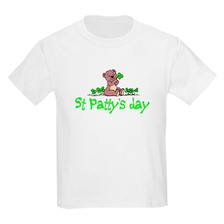 Shamrock Bear Kids T-Shirt