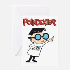 poindexter Greeting Card