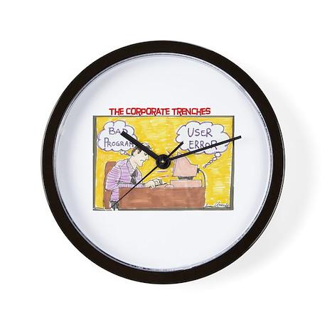 User Error Wall Clock