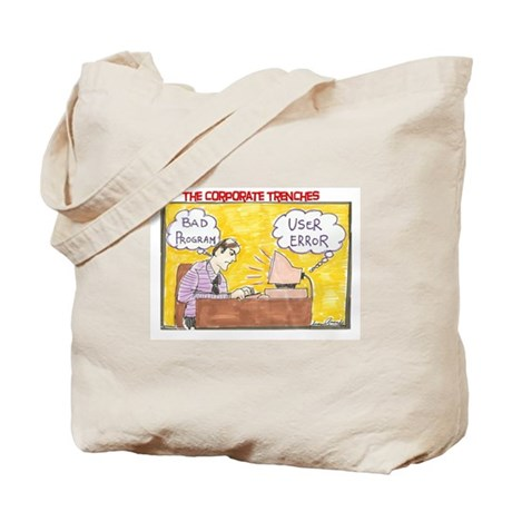 User Error Tote Bag