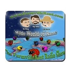 Wide World of Rant Mousepad