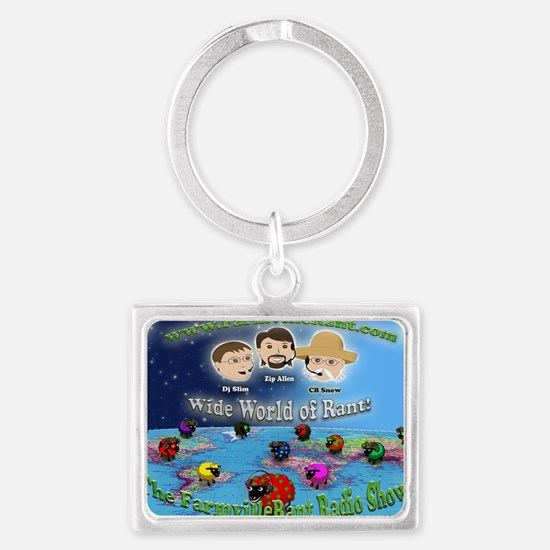 Wide World of Rant Landscape Keychain