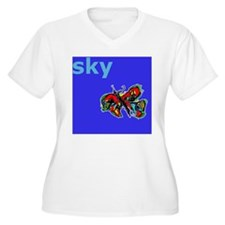 butterfly and blu T-Shirt