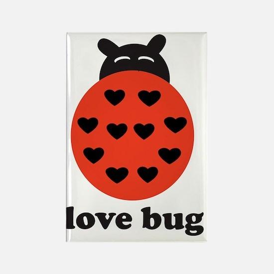 lovebug Rectangle Magnet
