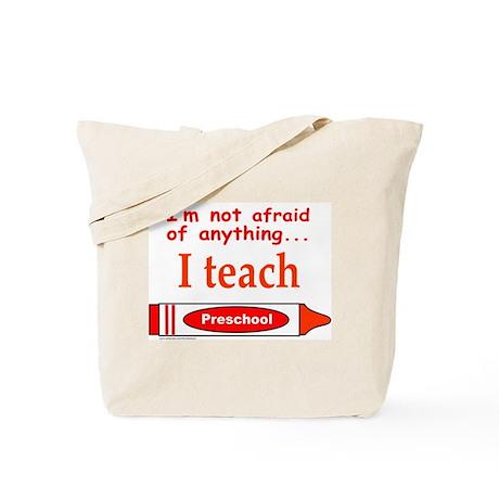 TEACH PRESCHOOL Tote Bag