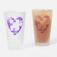 missing_puzzle_piece_from_heart_2 Drinking Glass