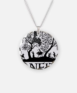 Janeite Jane Austen Fan Desi Necklace