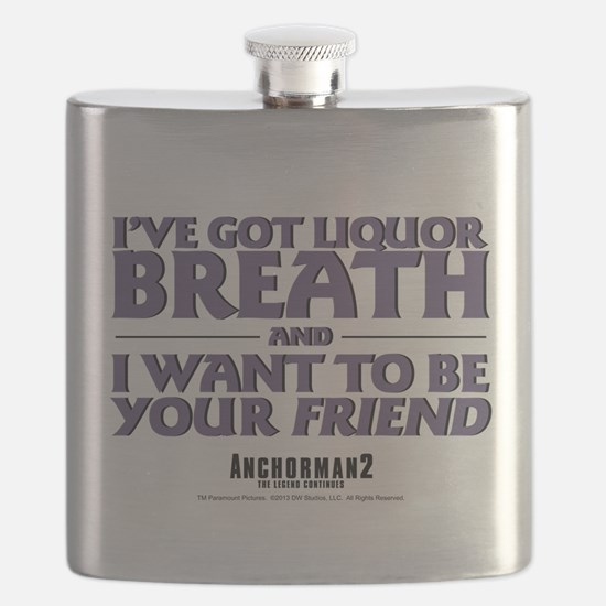 I've Got Liquor Breath Flask