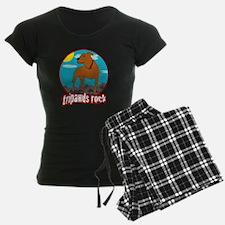 Tripawds Rock Front Leg Pit  Pajamas