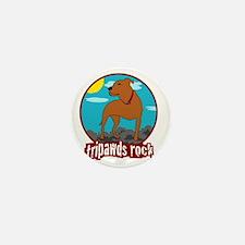 Tripawds Rock Front Leg Pit Bull Mini Button