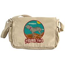 Tripawds RockRear Leg Pit Bull Messenger Bag