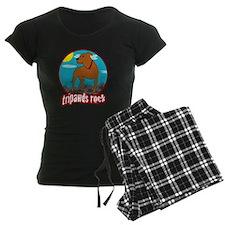 Trpawds Rock Three legged Pi Pajamas