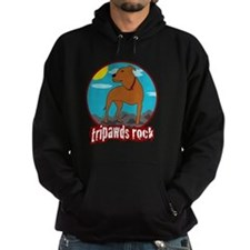 Trpawds Rock Three legged Pitbull Fr Hoodie