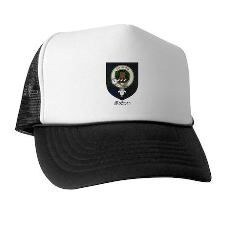 McEwan Clan Crest Tartan Trucker Hat