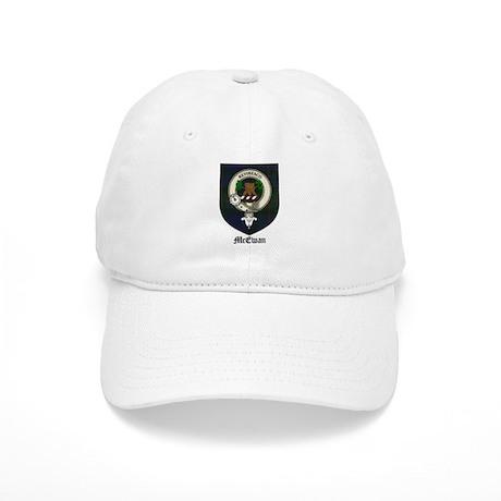 McEwan Clan Crest Tartan Cap