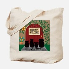 welcomerodents12 Tote Bag