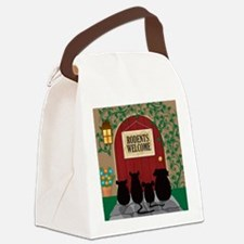 welcomerodents12 Canvas Lunch Bag