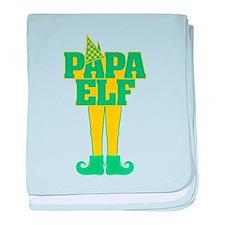 Papa Elf baby blanket