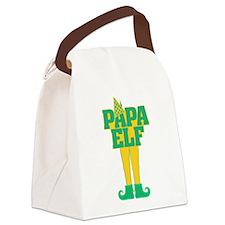 Papa Elf Canvas Lunch Bag